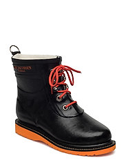 SHORT RUBBER BOOT - ORANGE