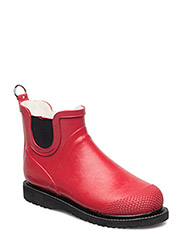 Rain boot short - DEEP RED