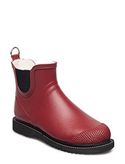 Rain boot short - WINE