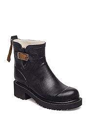 WOMEN RUB BOOTS SHORT - 01 BLACK