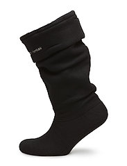 FLEECE SOCK - 0112 BLACK CREME
