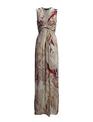 Dress - Oxblood