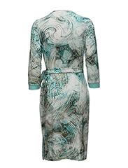 WOMENS SNAKE INSPIRED DRESS
