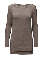 WOMENS OVERSIZE PULLOVER - SMOKED PEARL