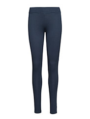 VISCOSE STRETCH LEGGINGS - INDIGO