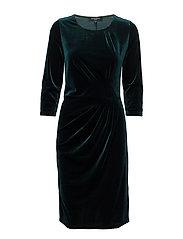 DRAPY DRESS - PINE
