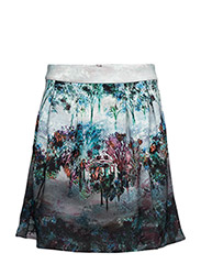 WOMENS WOOD SKIRT - AQUA HAZE