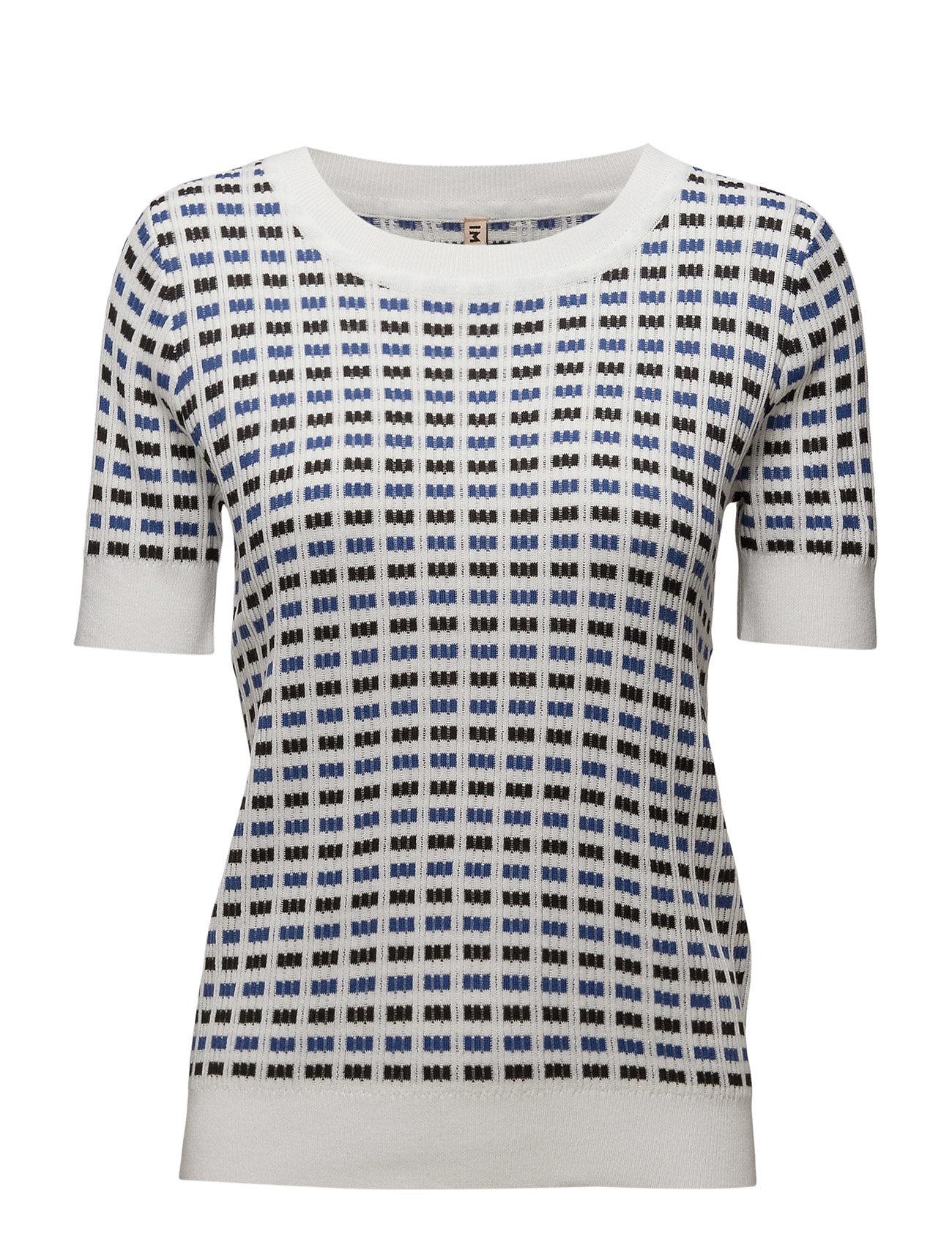 Pullover-Knit Summer Imitz Striktøj til Kvinder i ultramarin