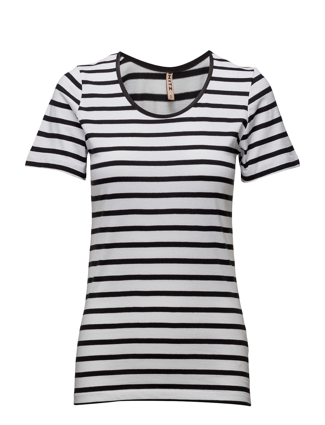T-Shirt S/S Imitz Kortermet til  - MoteJakten