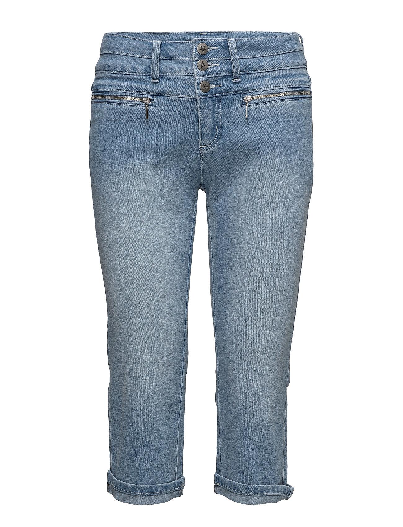Capri Pants-Denim Imitz Shorts til Kvinder i