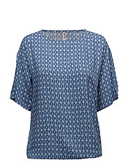Blouse-woven - FRENCH NAVY