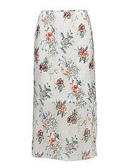 Skirt-light woven - OFFWHITE MIX