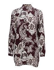 Shirt l/s Woven - WINETASTING MIX