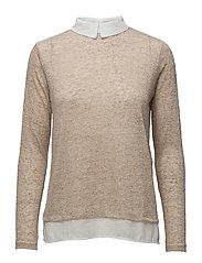 Pullover-knit Heavy - SMOKE SAND MIX