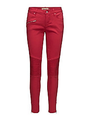 Capri pants - RED CHILI
