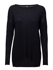 Pullover-knit Heavy - FRENCH NAVY