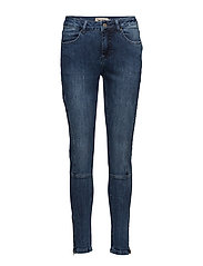 Capri pants-denim - DENIM BLUE BLAST