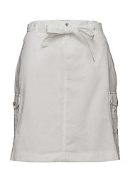 Casual skirt - WHITE