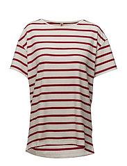 T-shirt s/s - RED CHILI MIX