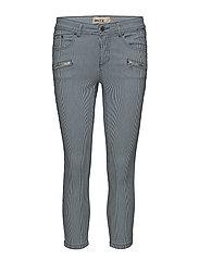 Capri pants-denim - TWILIGHT BLUE MIX