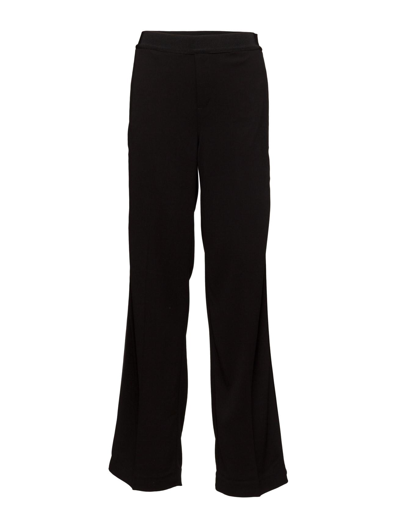 Chica Wide Pant Hw InWear Bukser til Kvinder i Sort