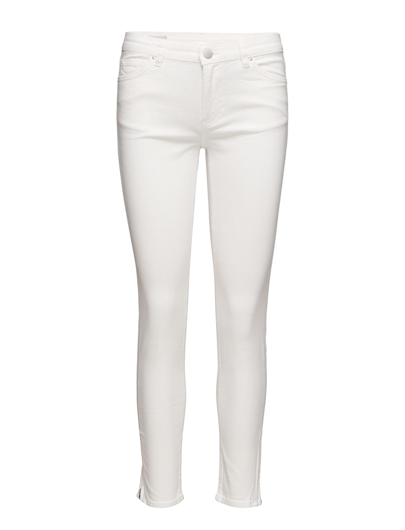 Jean Low Cropped Hw InWear Skinny til Damer i Pure White