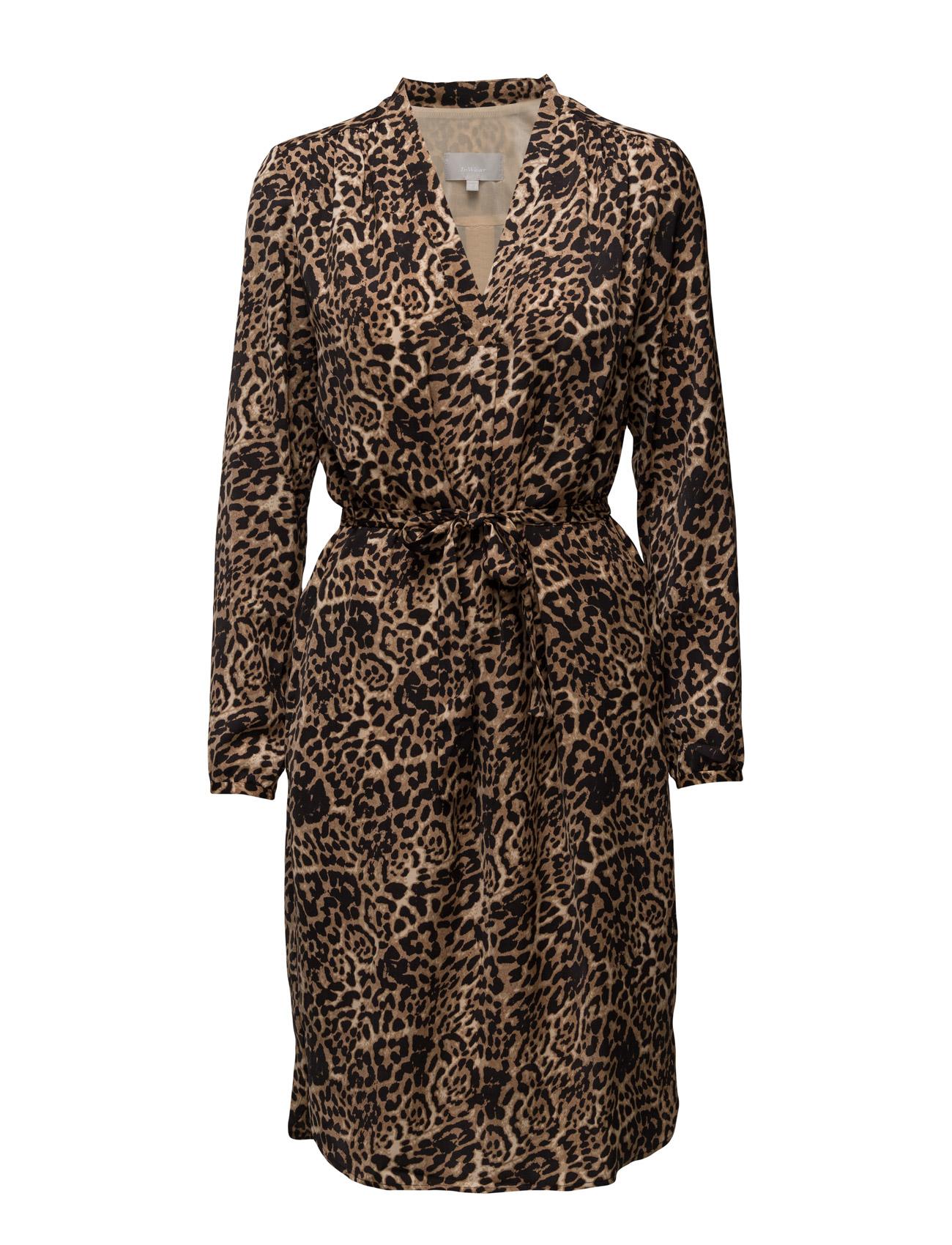 Phoebe Dress Lw InWear Knælange & mellemlange til Damer i Leopard Amphora