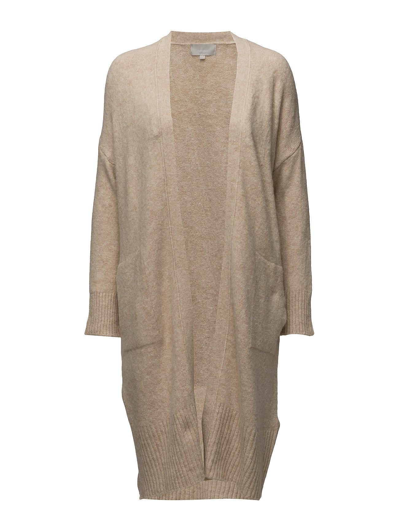 Yasu Cardigan Knit InWear Cardigans til Damer i Pulver Beige