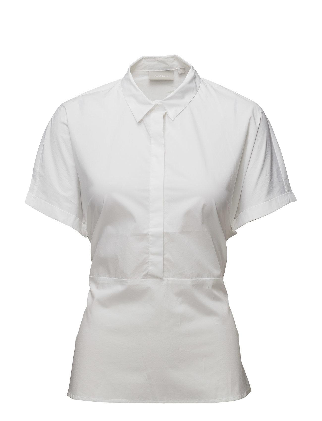 Gryta Shirt Lw InWear Kortærmede til Damer i Pure White