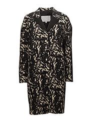 Camy Coat OW - ABSTRACT LEOPARD NEUTRAL