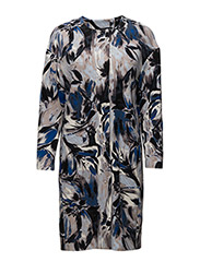 Cesaria Coat OW - PAINTED FLOWER