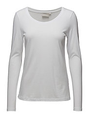 Rena LS Tshirt - PURE WHITE
