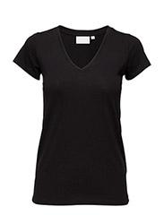 Rena V Tshirt KNTG - BLACK