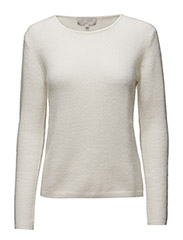 Tia Pullover KNIT - WHITE SMOKE