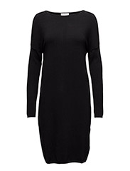 Tracy Dress KNIT - BLACK