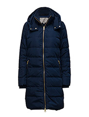 Viola Long Coat OW - INK BLUE