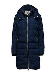 Viola Long Coat OW - INK BLUE