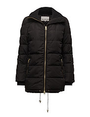 Viola Short Coat OW - BLACK