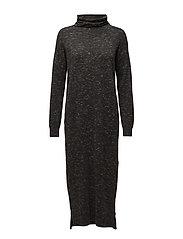 Wiwi Dress KNIT - DARK GREY MELANGE