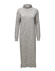 Wiwi Dress KNIT - LIGHT GREY MELANGE