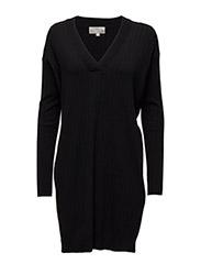 Yazz Dress KNIT - BLACK