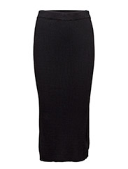 Yazz Skirt KNIT - BLACK