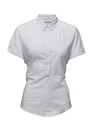 Gryta Shirt LW - YARN DYE BLUE STRIPES