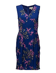Bentley Dress LW - BAMBOO FLOWERS PINK