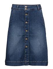 Agnes Short Skirt HW - TWILIGHT BLUE