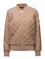 Leann BomberJacket OW - BLUSH POWDER