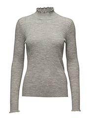 Noah Pullover MA17 KNIT - NEW LIGHT GREY MELANGE