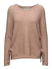 Nevis O Pullover KNIT - BLUSH POWDER