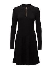 Novella Dress KNIT - BLACK