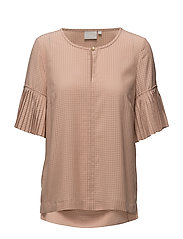 Malia Blouse LW - BLUSH POWDER